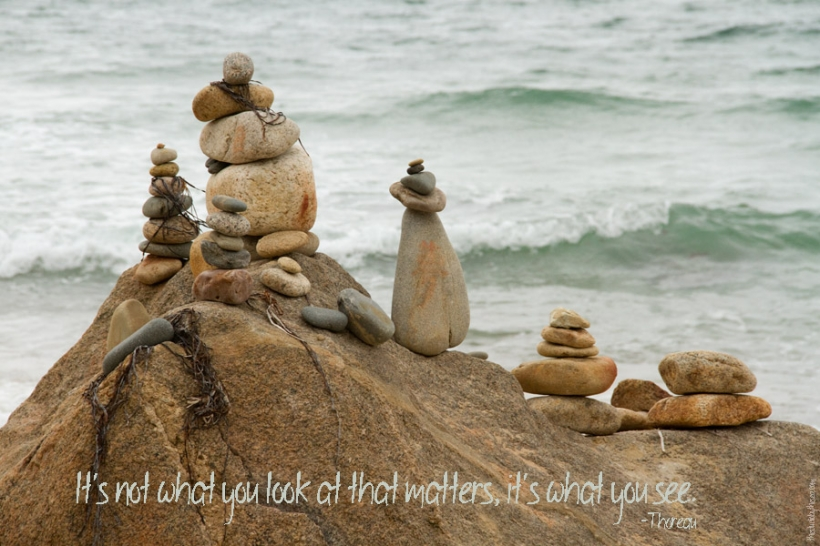 cairn scultpures on Marthas Vineyard
