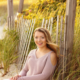 Senior girl classic Cape Cod portrait